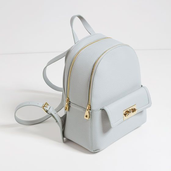 c0930e065f582 Image 4 of BACKPACK WITH ZIP from Zara