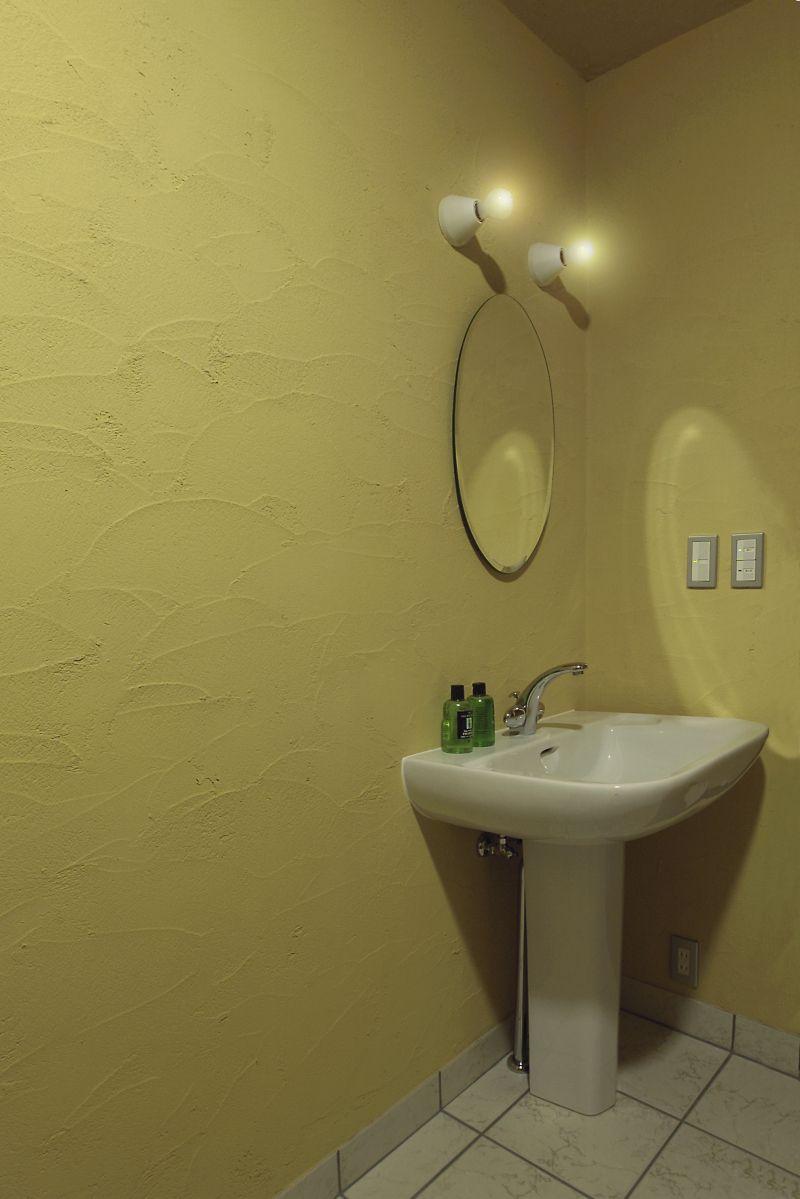こだわりの塗り壁ブログ橙庵 飯島邸洗面 塗り壁 部屋 壁紙 トイレ