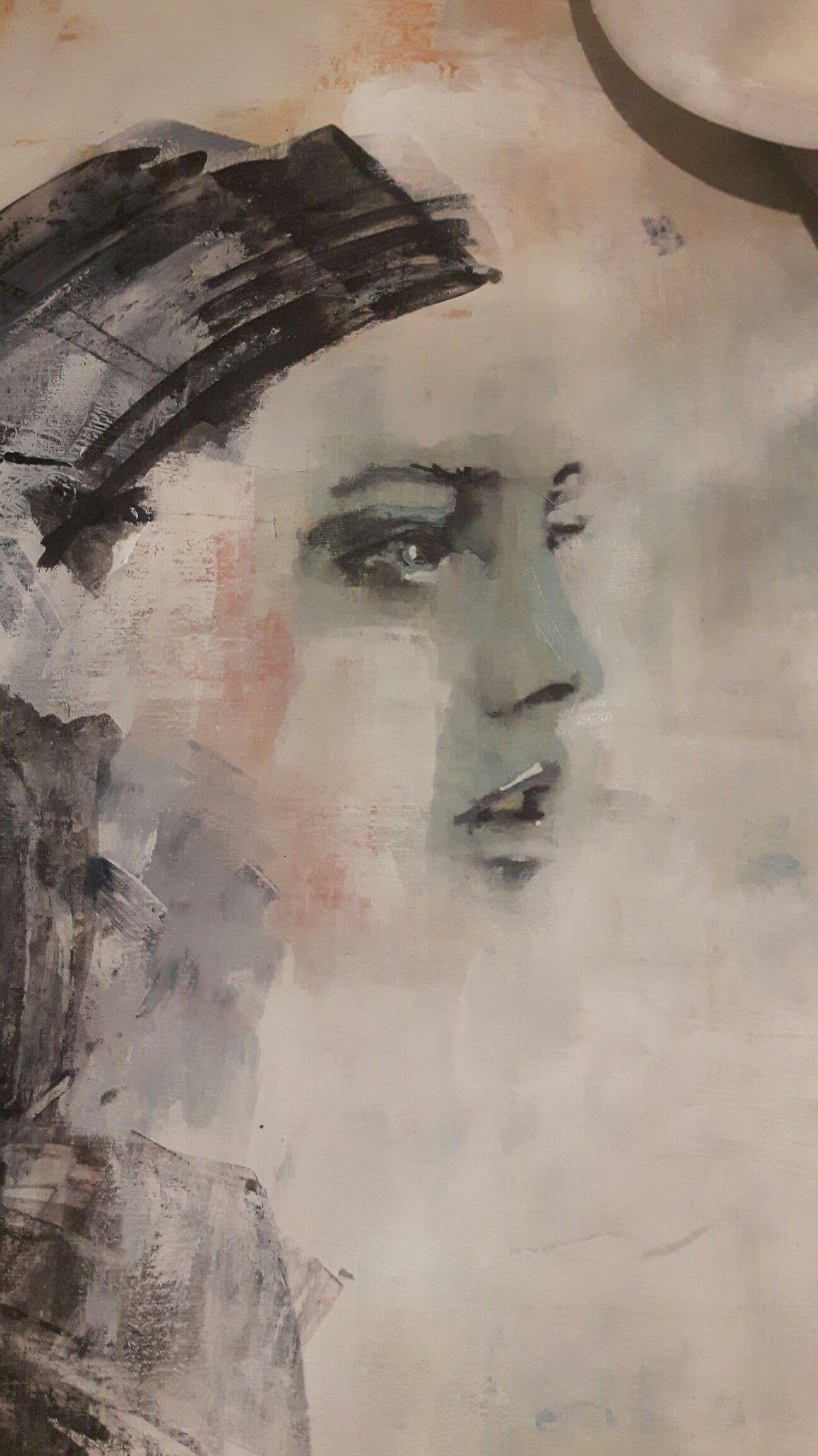 Work in progress. #art #acrylic #painting #portrait #frankforsman #picturesbyfrank #inprogress #process #progress