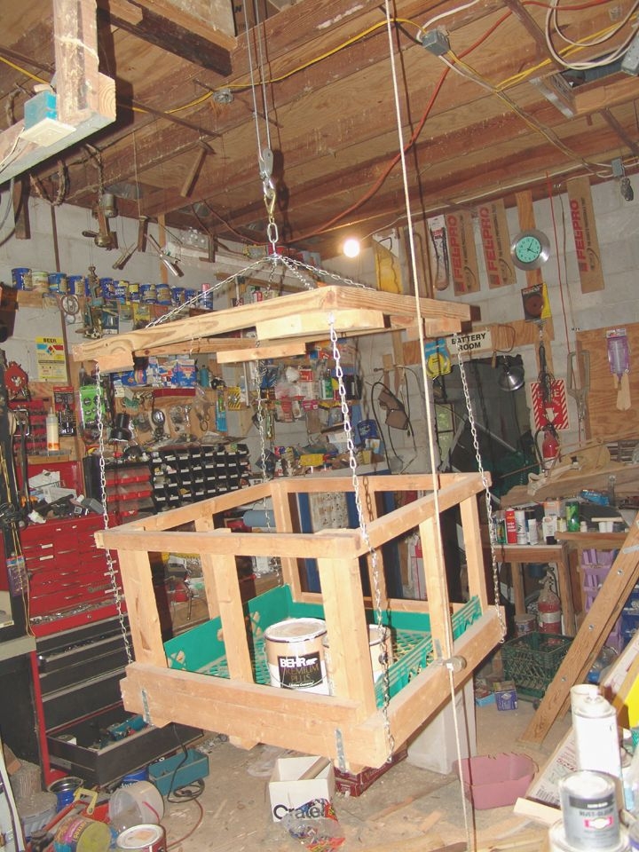Hoisting tools to the attic? - The Garage Journal Board ...