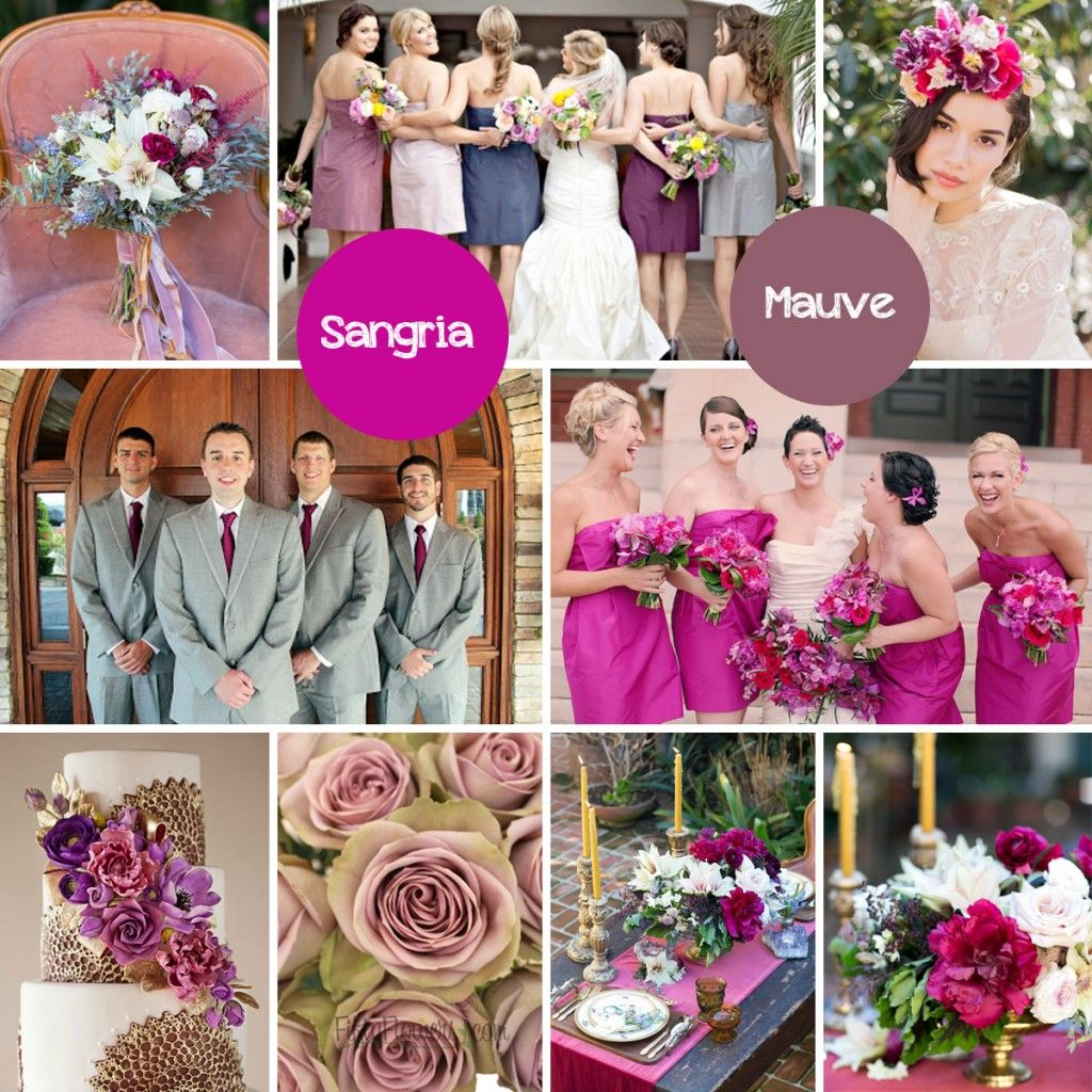 More Wedding Color Palettes For Fall
