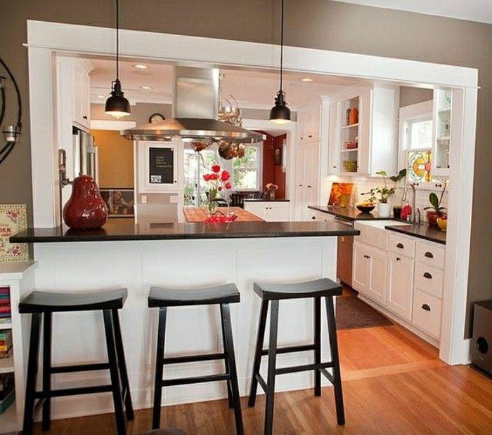 Très Comment meubler votre cuisine semi-ouverte? | Plan cuisine  ST74