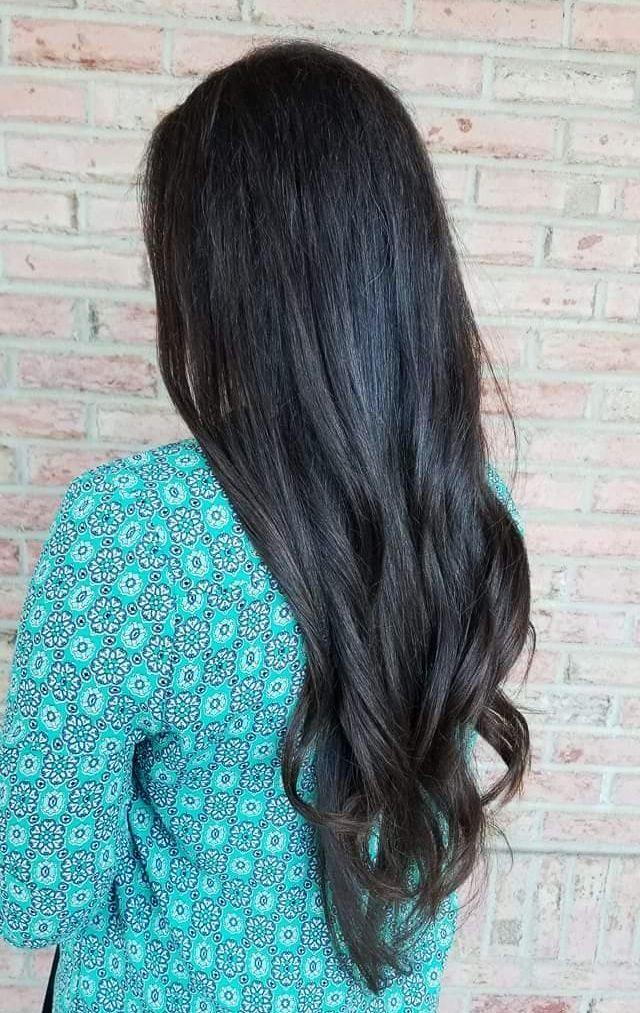 Womens Extra Long Haircut Elbow Length 35 Long Hair Cuts