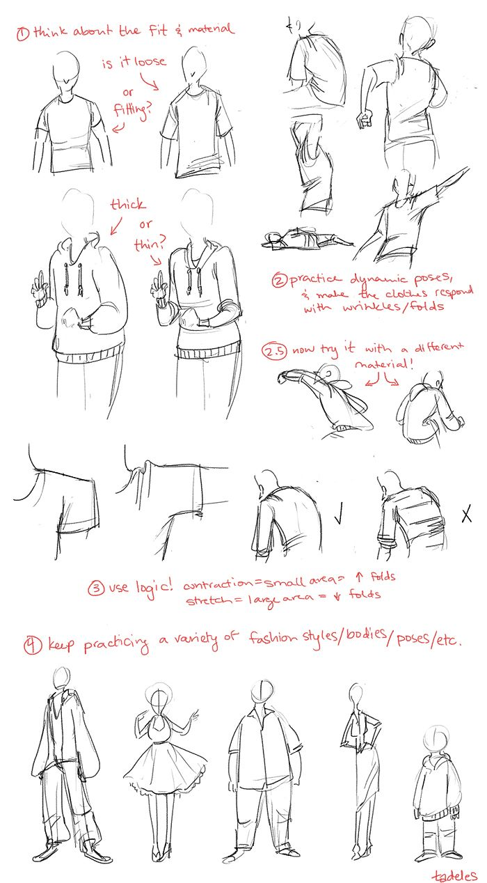 some clothing tips for omgaloshes! if anyone wants, I'll try to do a part 2 of this, where I draw different articles of clothing. just let me know! :) x