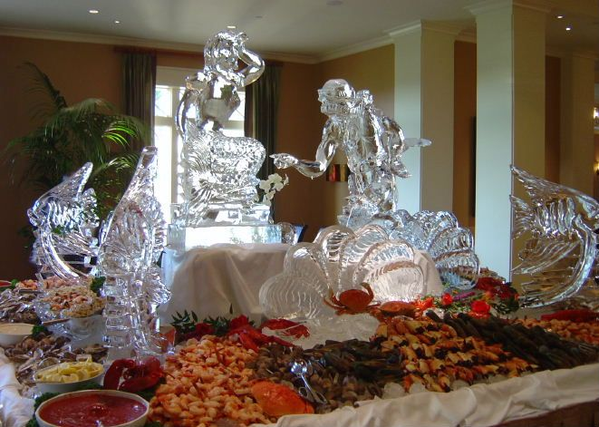 Styled Ice Sculptures, West Palm Beach