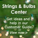 String Lights & Bulbs Help Center