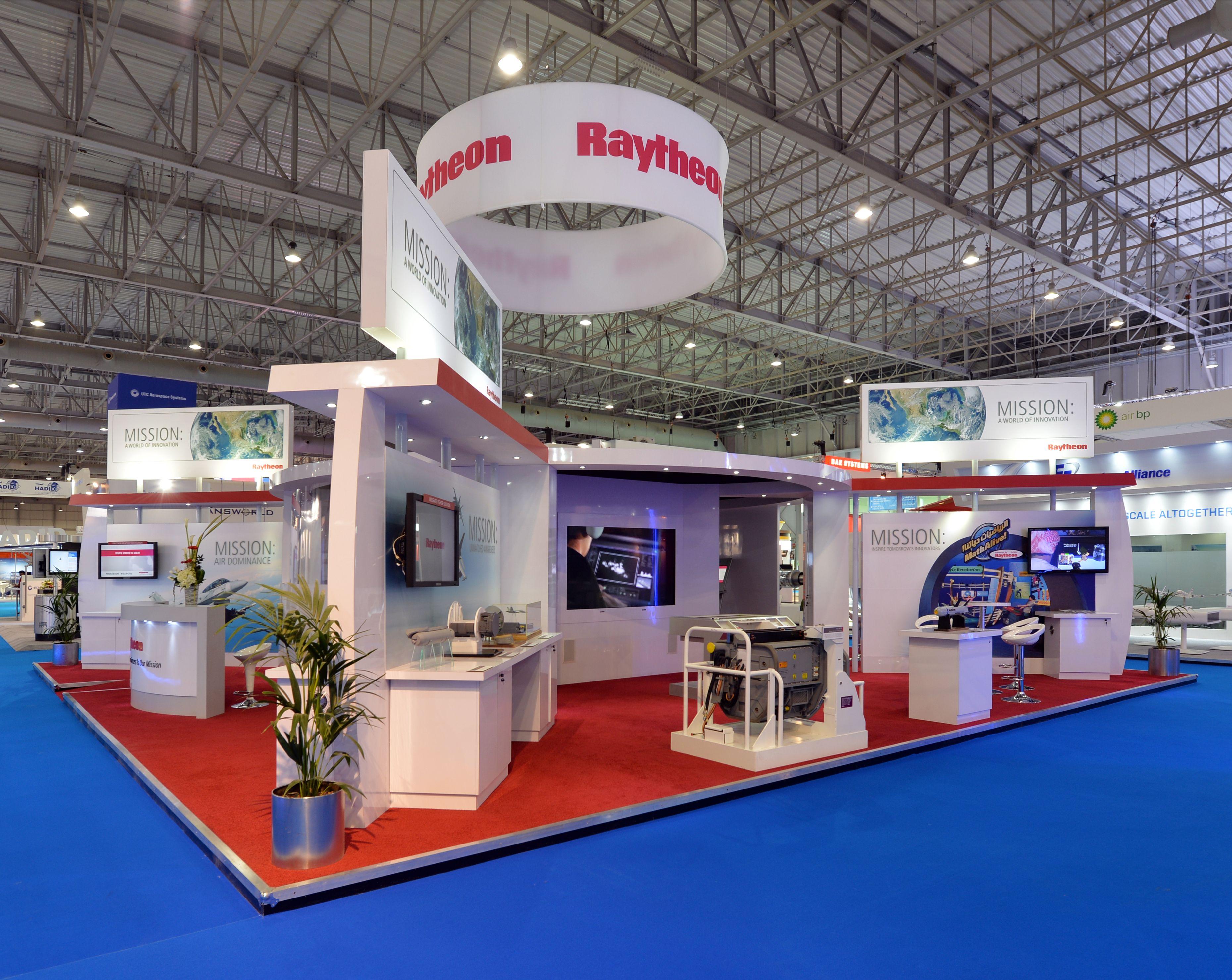 Raytheon Dubai Air Show 2013 Exhibition stand, Air show