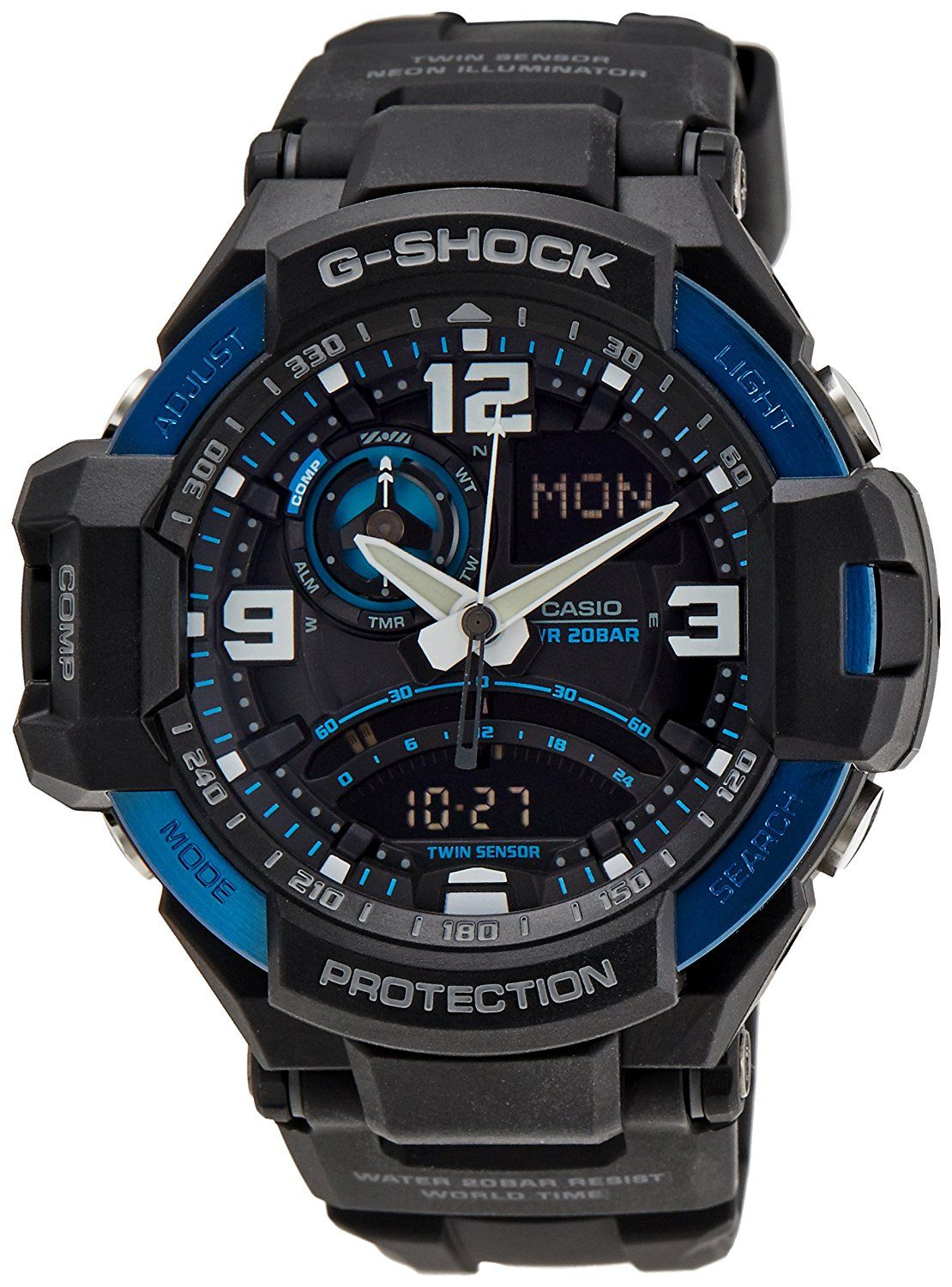 GA-1000-2BDR Casio Wristwatch *** See this great product.