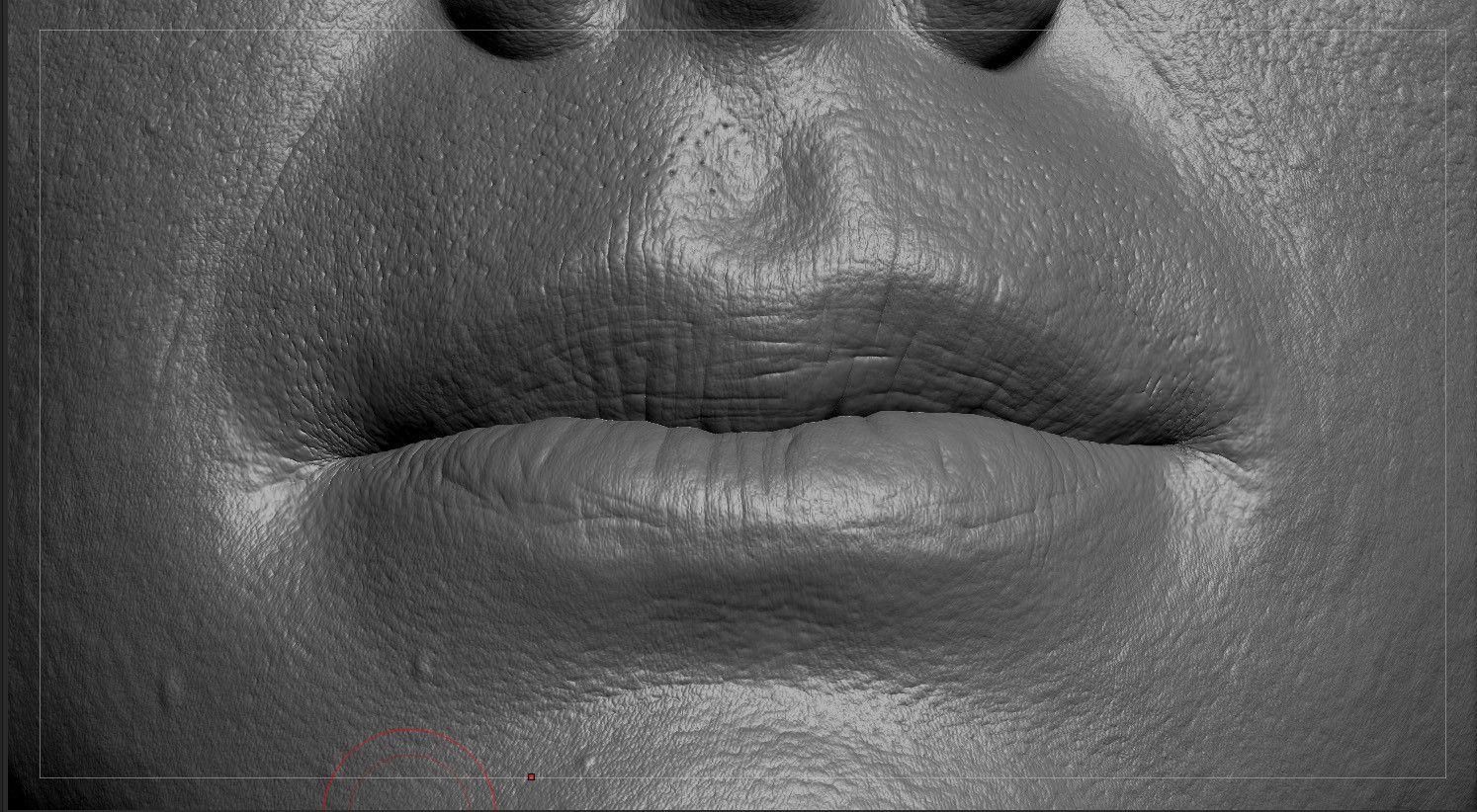 lip skin detail - ArtStation - Meknassy sculpt & details, Ljabli ...