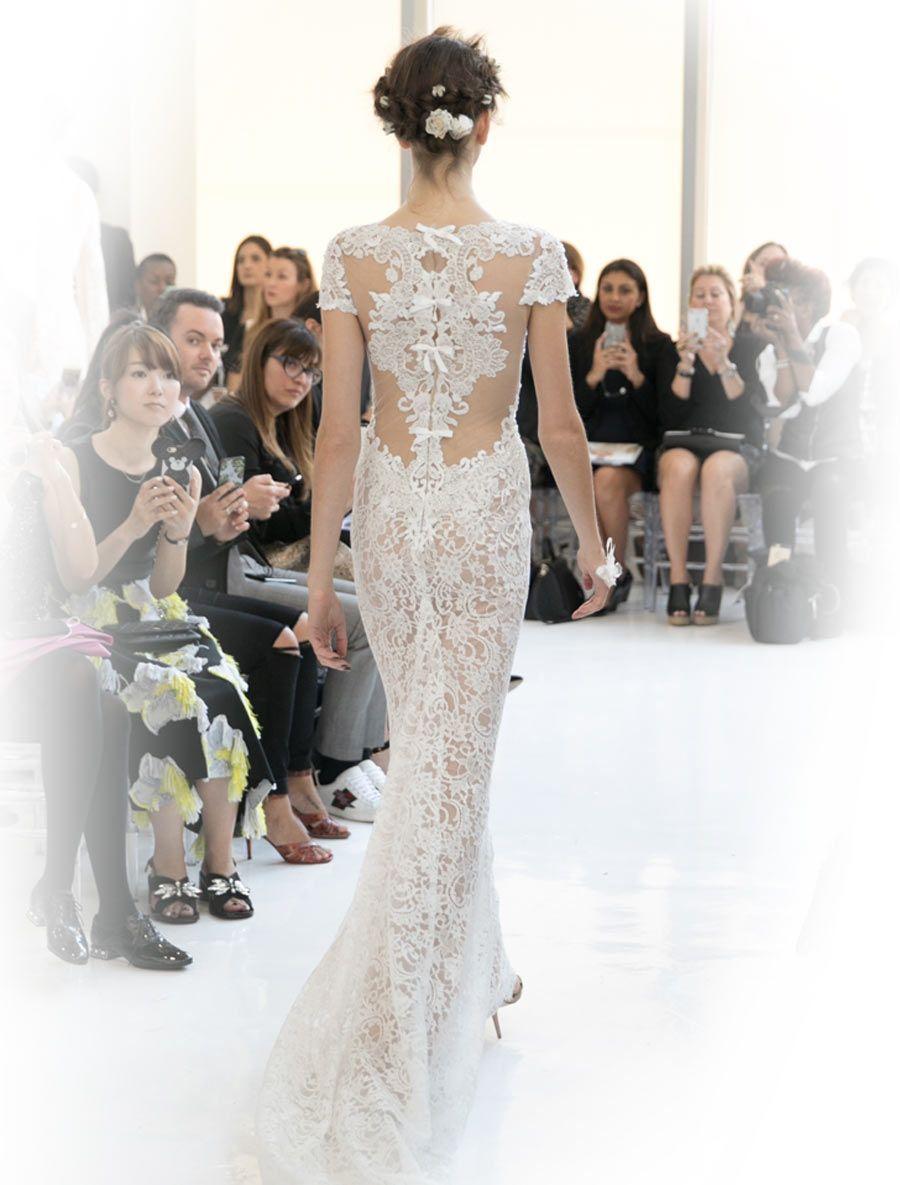 277589a04239 Reem Acra Cheri 5624 Wedding Dress Size 10 | PATTERN | Wedding ...