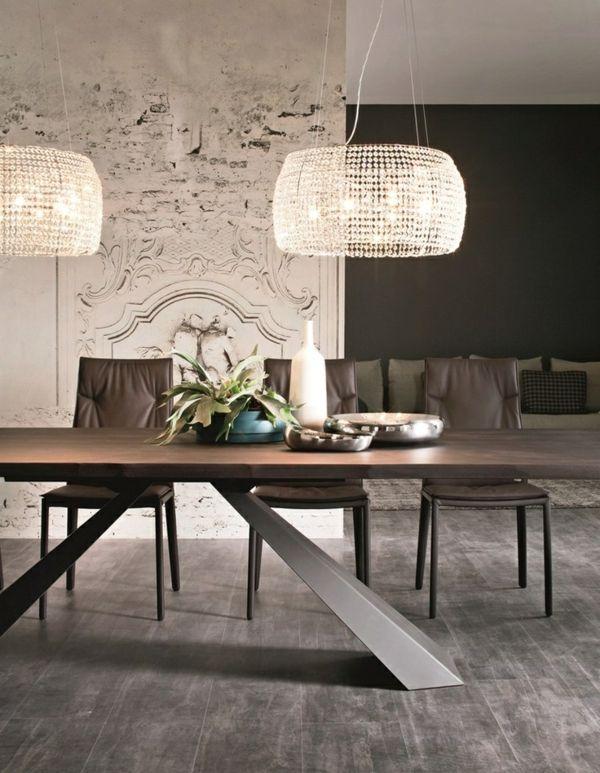 Good Luxus Hausrenovierung Esszimmer Pendelleuchten Eine Schone Beleuchtung Leuchten Zu Erhellen Ihr Spe #10: Hinreißende Esstischlampen Individualisieren Den Raum