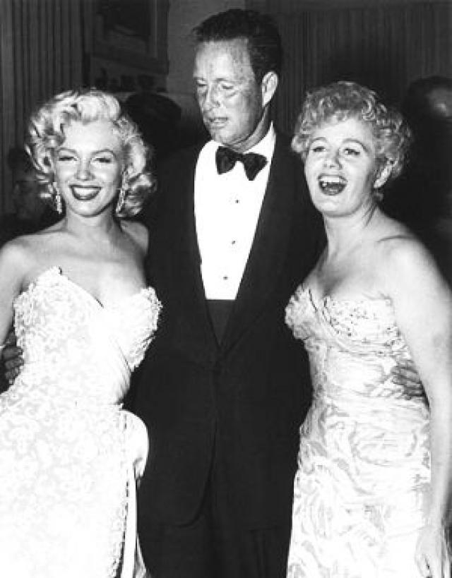 Hugh Hefner And Marilyn Monroe Bing Images Playboy Pinterest
