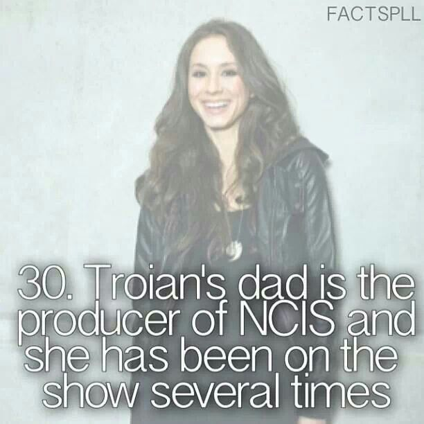 OMG how could would a NCIS/PLL crossover show be.... Oh yeah she's plays Magee little sister!!!!