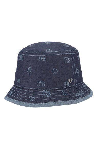 1f38cd681986f  Monogram  Denim Bucket Hat Bøllehat