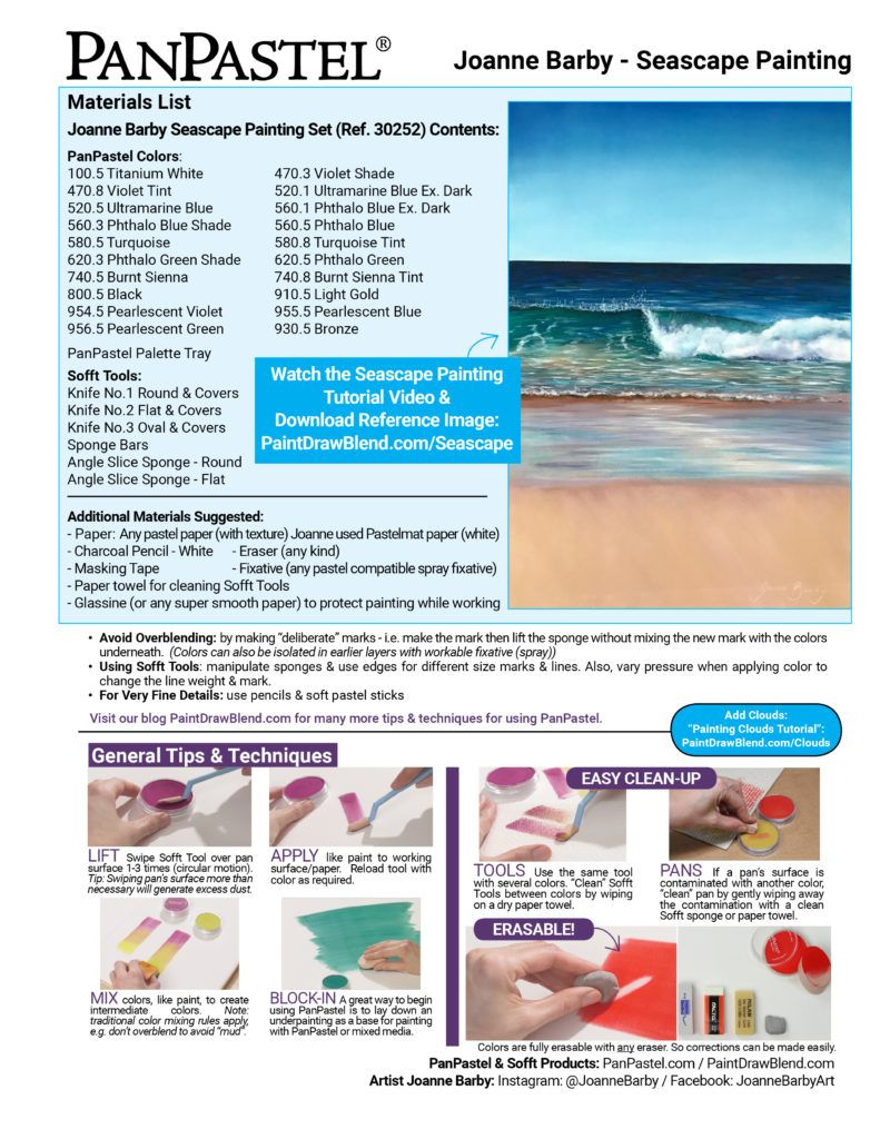 Video Seascape Painting Paint Draw Blend In 2020 Seascape Paintings Seascape Basic Painting