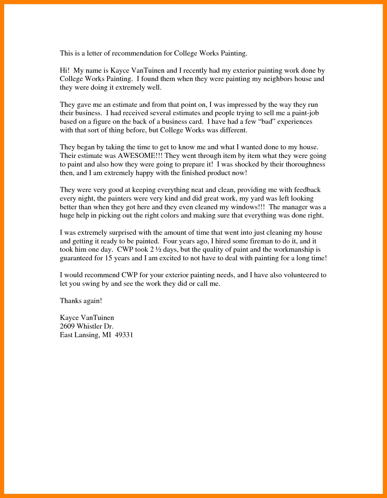 College Admissions Recommendation Letter Samples from i.pinimg.com