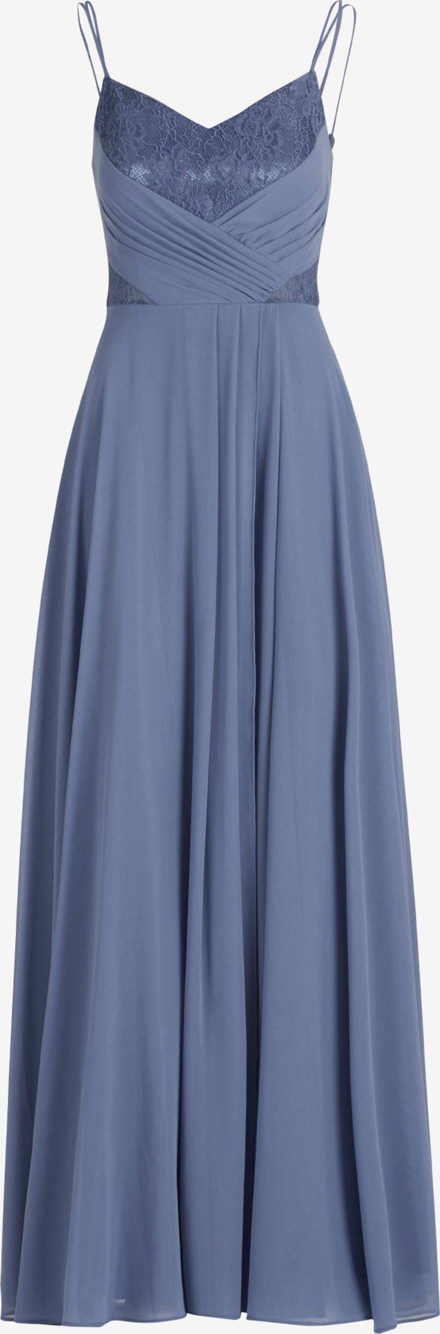 vera mont abendkleid in blau | about you in 2020