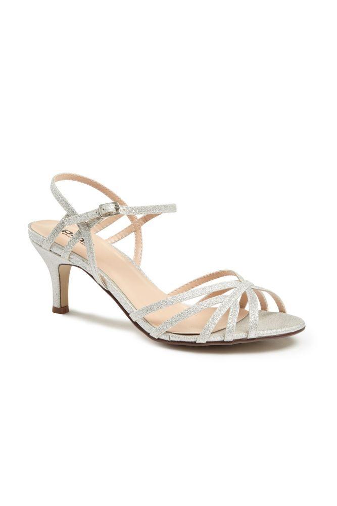 9a26cc2ec0ae95 Thin Strap Low Heel Glitter Sandals Women s