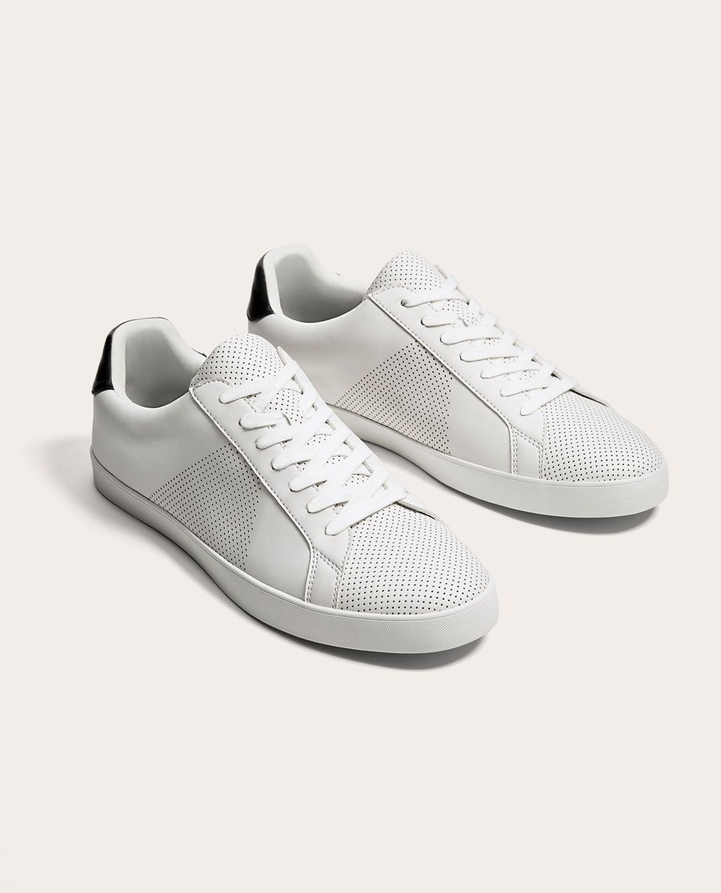 491cafe3 Image 1 of MICRO-PERFORATED PLIMSOLLS from Zara | zara loafer in ...