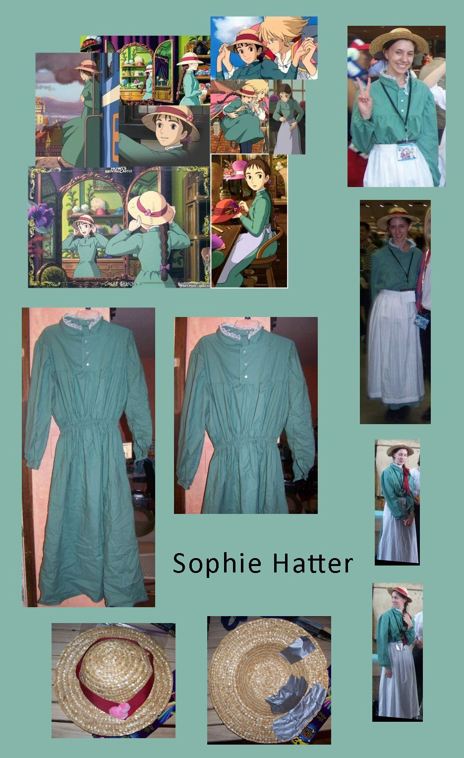 My cosplay of Sophie Hatter from Howl\'s Moving Castle. I used the ...