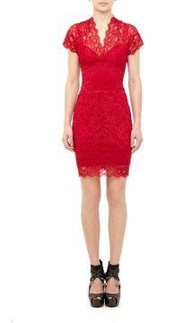 Eva Cap Sleeve Lace Dress on shopstyle.com