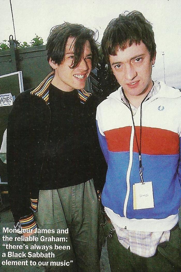 Alex Graham Blur Band Britpop Damon Albarn