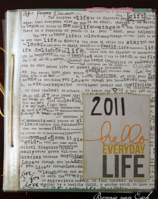 Living life creatively...: Project Life 2013. {+ Free printable Journal cards}