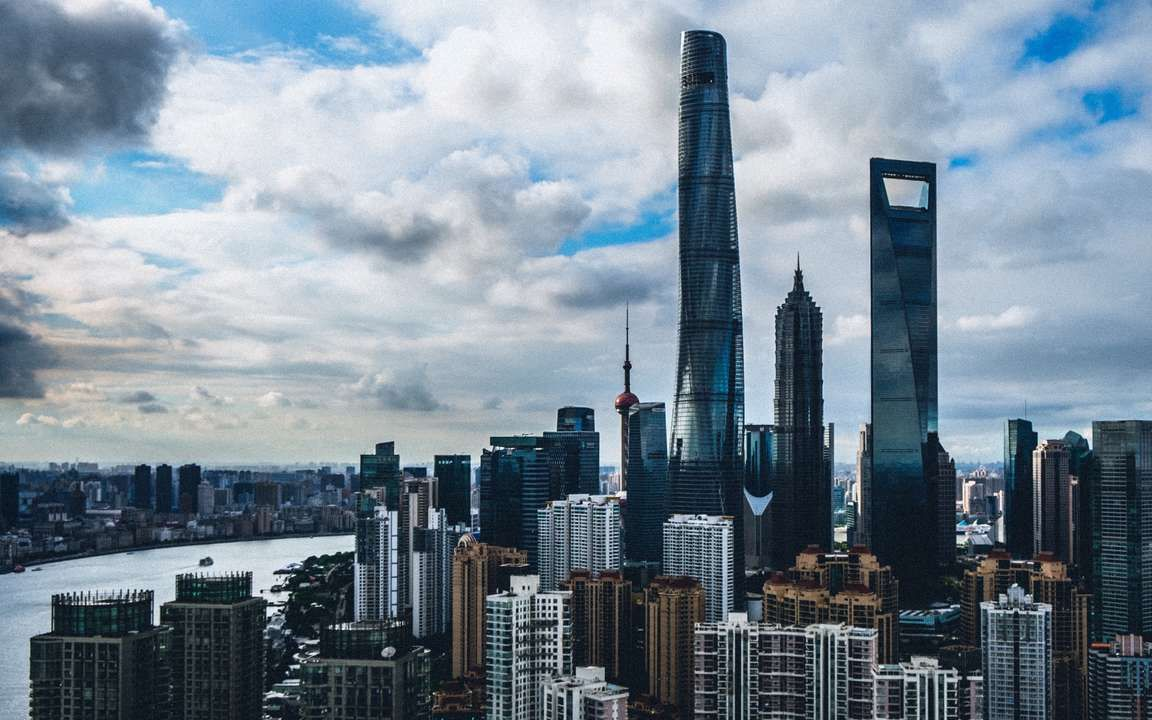Download Wallpaper 3840x2400 Shanghai China Skyscrapers Buildings 4k Ultra Hd 16 10 Hd Background