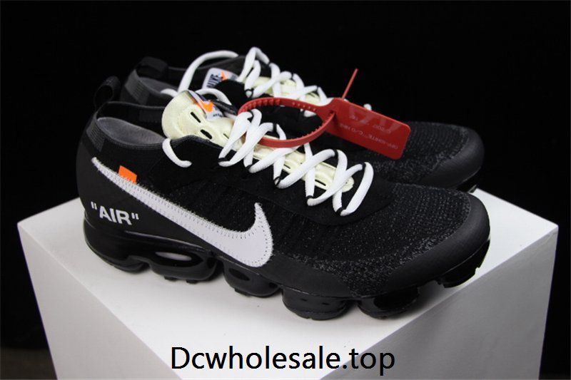De vez en cuando Fortaleza Eliminación  OFF WHITE x Nike Air VaporMax 2018 OW Black Women Men | Nike air vapormax,  Nike, Designer sneakers mens