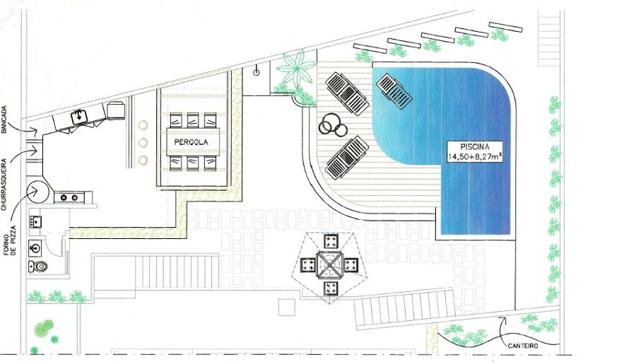 Projetos de piscinas de concreto pesquisa google - Cemento para piscinas ...