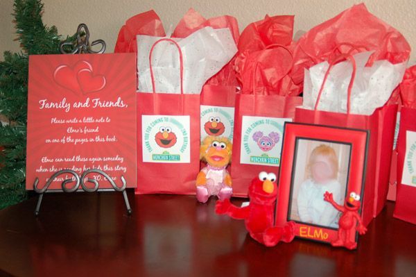 The Slow Roasted Italian: Munchkin's Elmo Themed 2nd Birthday Party w/ Rubber Ducky Punch