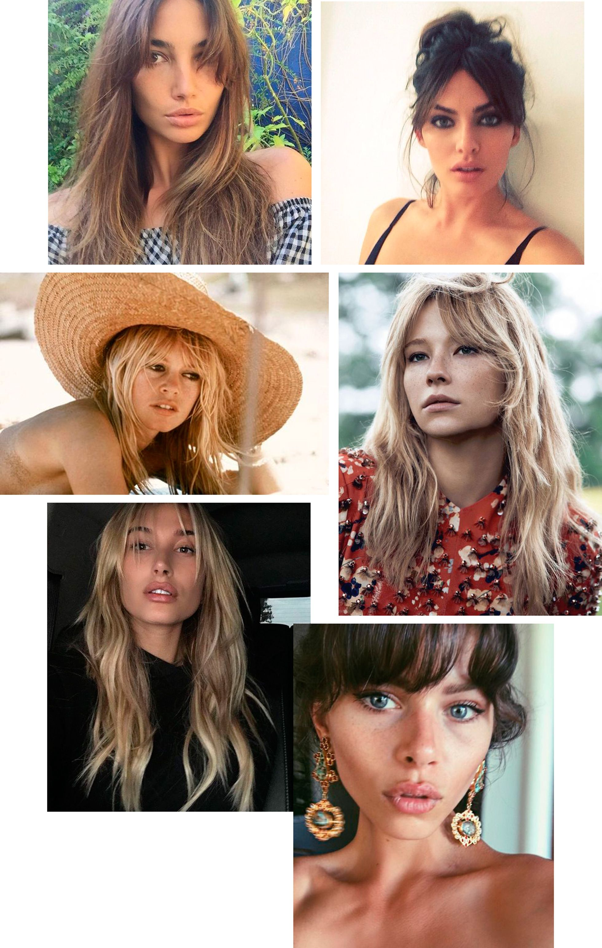 The Shaggy 70 S Bangs Lisa Olsson Fringe Hairstyles 70s Hair Hair Styles