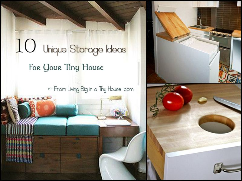10 unique storage ideas for your tiny house living small tiny home simplicity - Tiny House Ideas