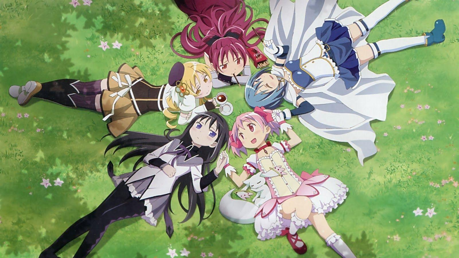 Magica Mobili ~ 10 anime like puella magi madoka magica madoka magica and anime