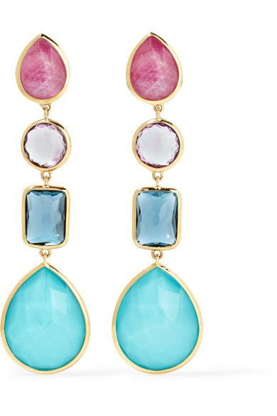 Rock Candy 18-karat Gold Topaz Earrings - one size Ippolita Cheap 100% Authentic 100% Authentic Sale Online Cheap Sale Best Prices Free Shipping Low Shipping New Cheap Price FHyHN