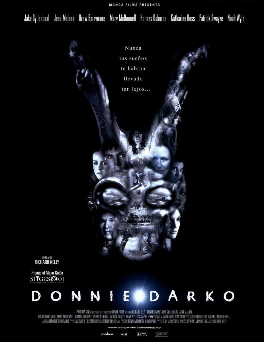 Donnie Darko 2001 Filmaffinity Donnie Darko Donnie Darko Posters Imdb Movies