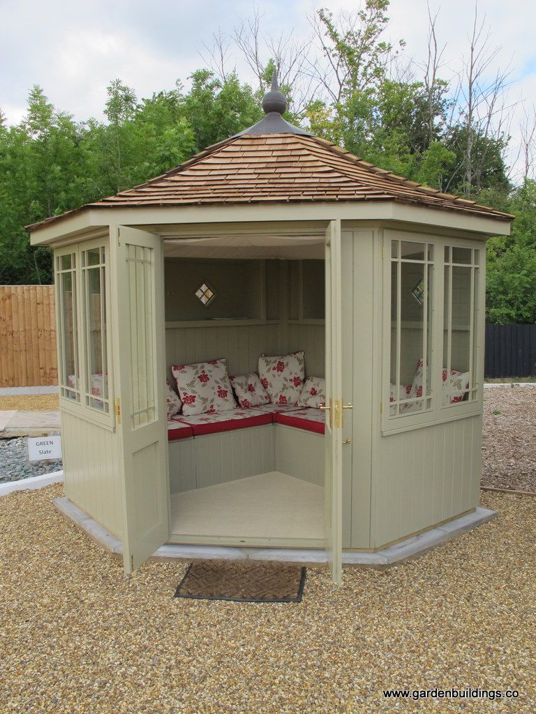 Garden Sheds And Summerhouses painted corner sheds summerhouse - google search | types of sheds