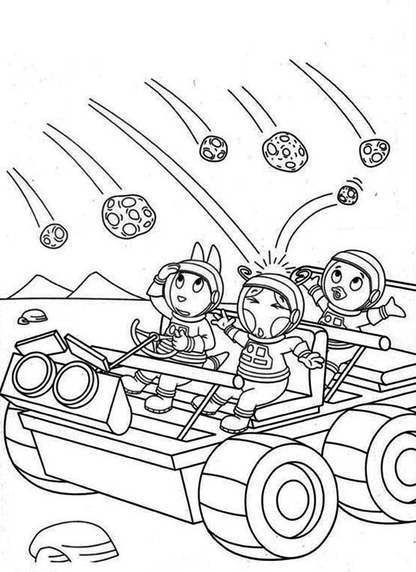 Austin And Pablo And Uniqua Hit By Meteor In The Backyardigans Coloring Page Kids Play Color Coloring Pages Online Coloring Coloring Pictures