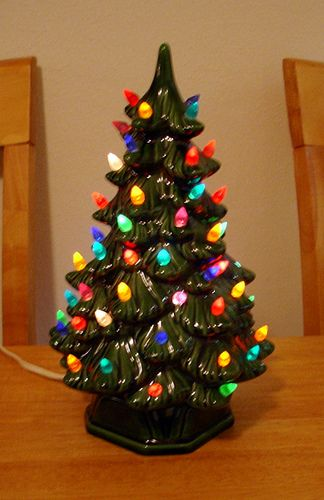 little light-up Christmas tree | Childhood | Pinterest | Christmas ...