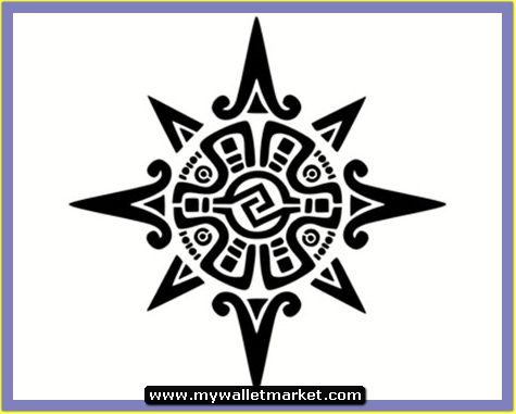 c0194be525897 Mayan Sun Tattoo Designs Design By Picture | Precolumbian Art ...