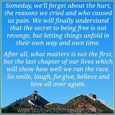 ♥ and while your forgiving others Forgive yourself for whatever it is you think you did or did not do ♥