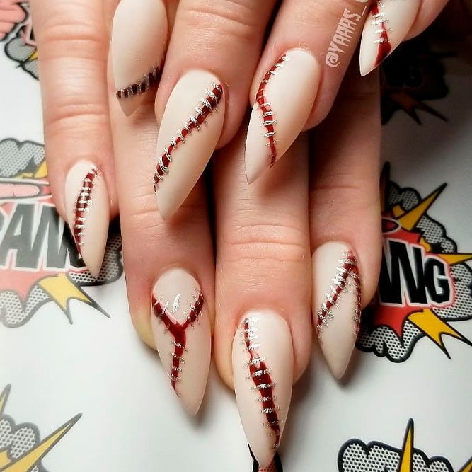 41 Cute And Creepy Halloween Nail Designs 2020 (With ...