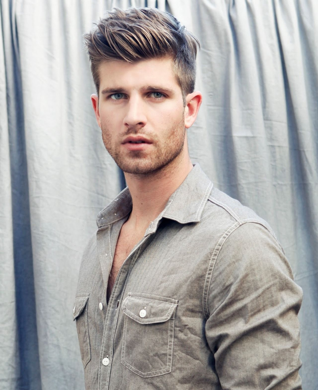 Hairstyle of boy logan mcneil  coupe homme  pinterest  hair styles hair and