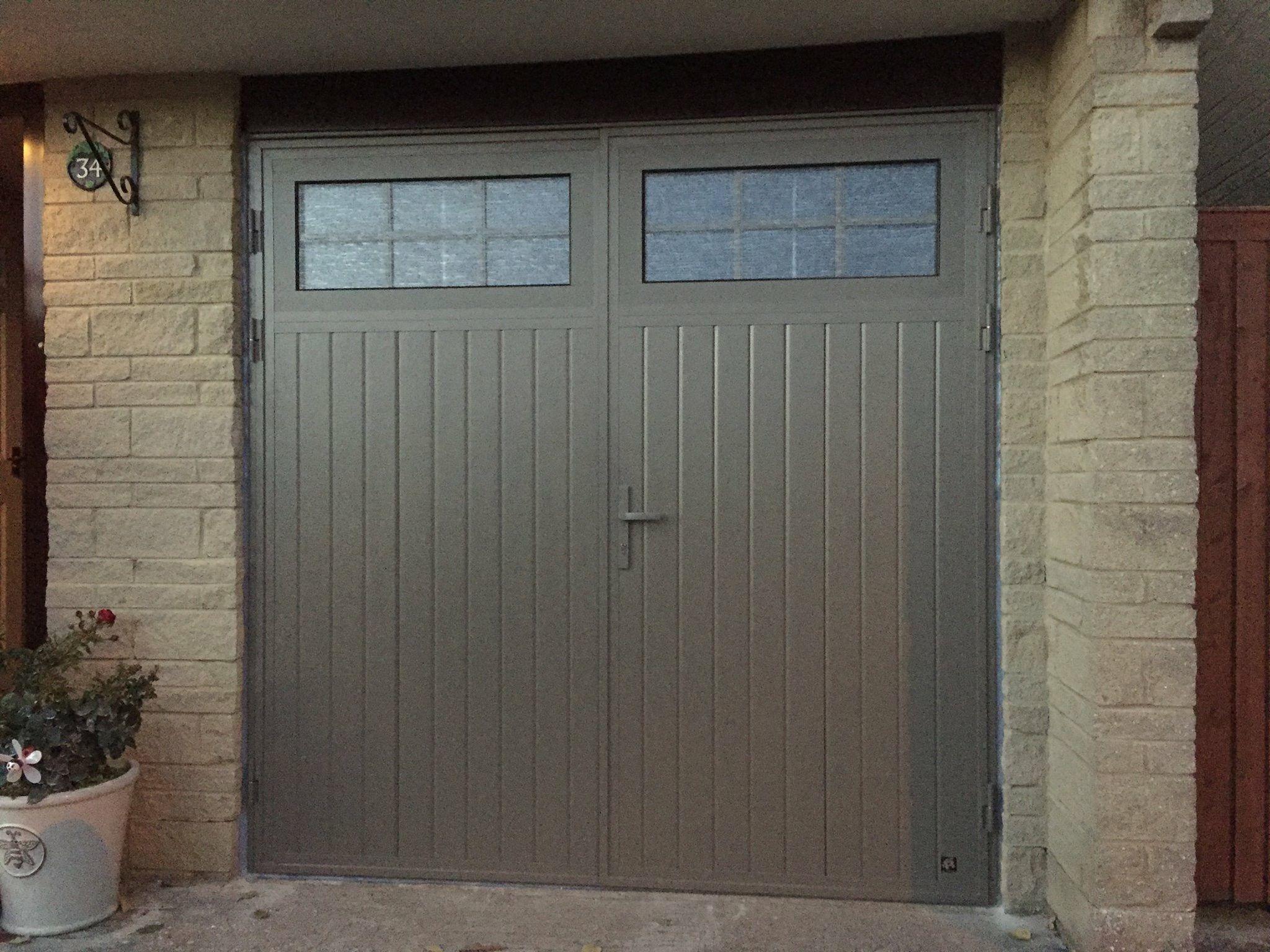 Ryterna Tradional Side Hinge Doors Insulated Side Hinged Garage Doors Double Doors Exterior Steel Garage Doors