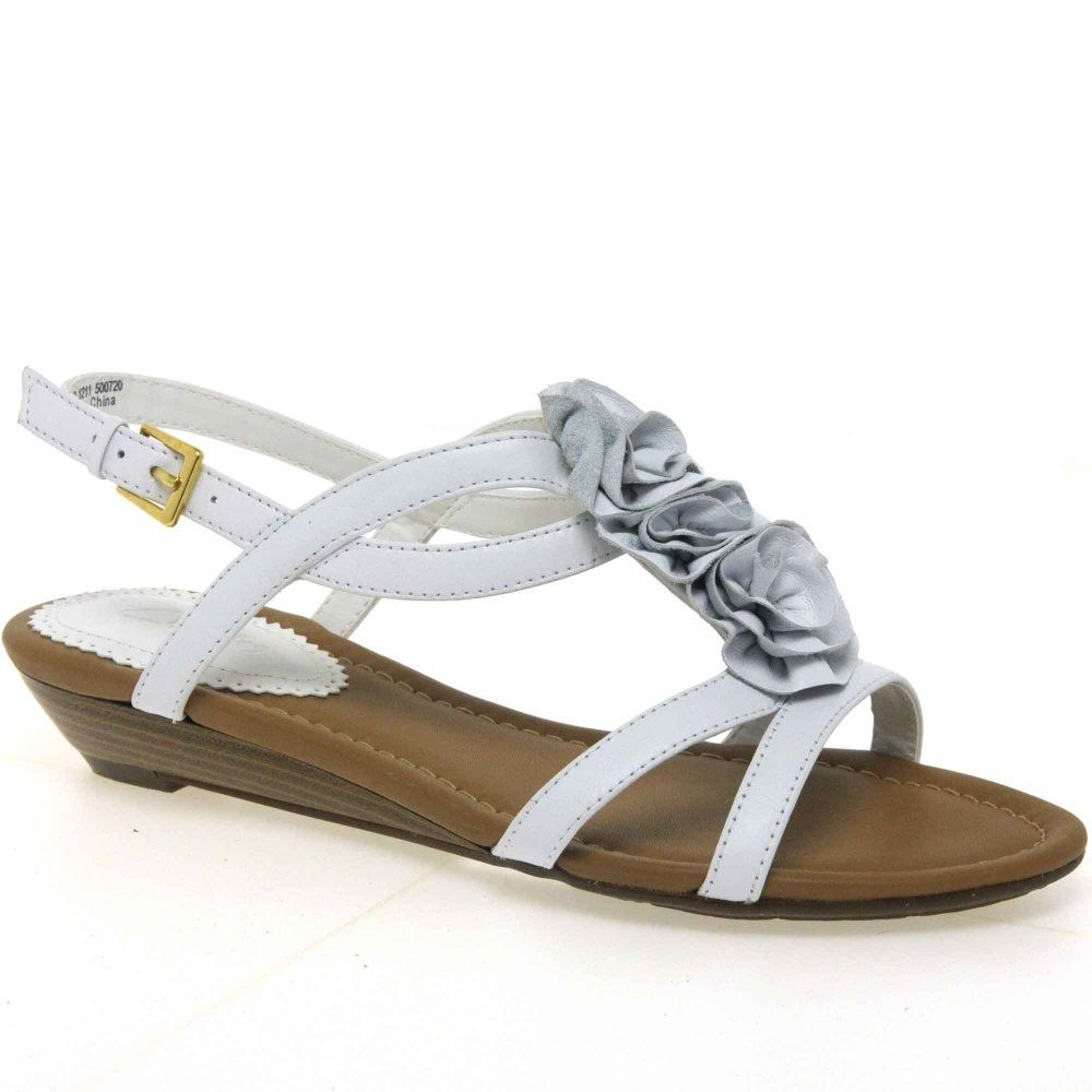 d766908a618 White Clark Sandals Women Sandals Pinterest Sandals