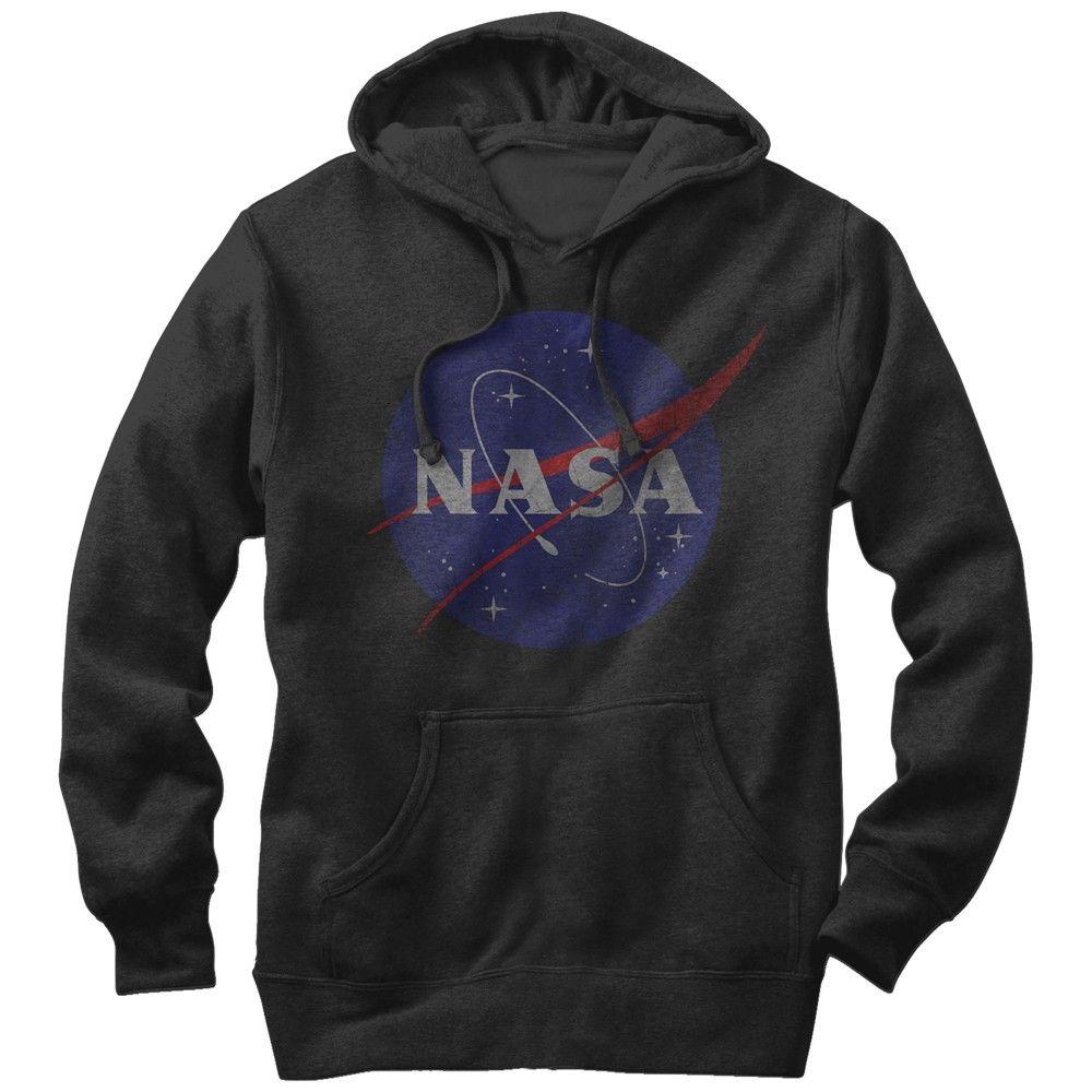 Nasa Men's - Logo Lightweight Hoodie | NASA | Pinterest | NASA ...
