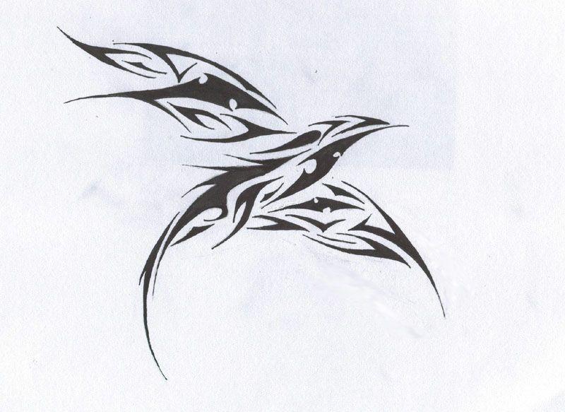 Tattoo Design Tattoo Images By Mike Cash Tribal Bird Tattoos Tattoos Trendy Tattoos