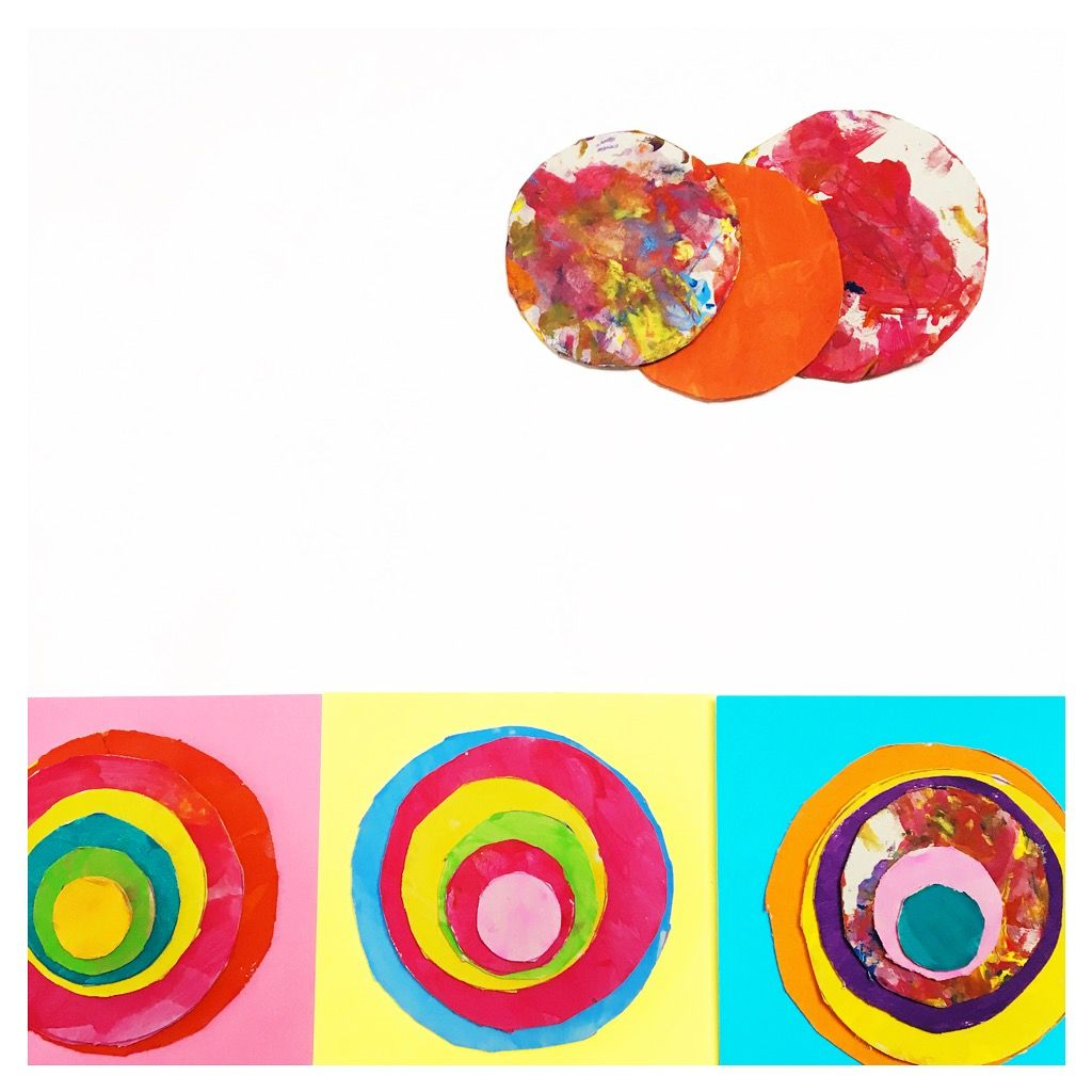 Kandinsky circles 13 ways to get creative with cardboard circle template recycled crafts recycled