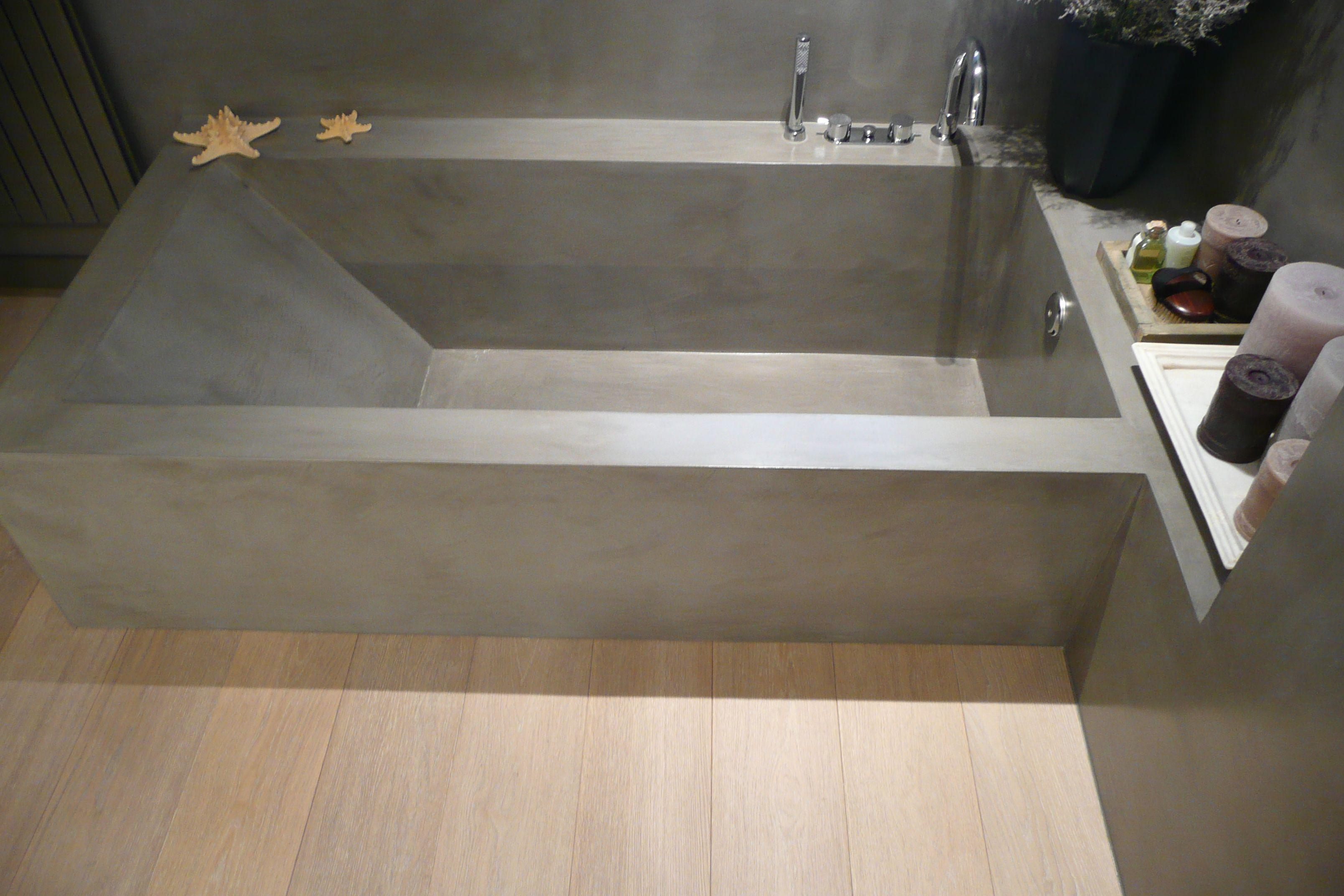 Baños De Microcemento:bañera microcemento SMSTUDIO BARCELONA
