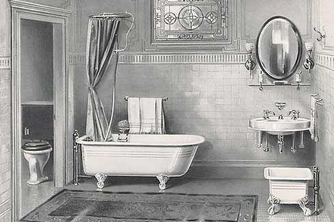 1910 bathroom yesterday s homes pinterest toilet bathroom rh pinterest co uk 1910 bathroom design 1910 bathrooms